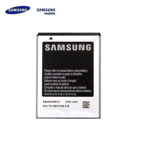 Samsung EB494358VU S5660 Gio S5670 Fit S5830 Ace Battery Li-Ion 1350mAh kaina ir informacija | Akumuliatoriai telefonams | pigu.lt