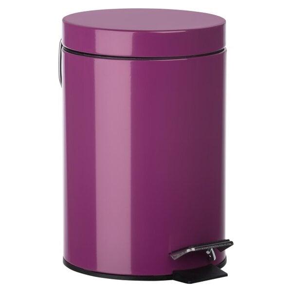 Šiukšliadėžė su pedalu Sensea Happy, 3l kaina ir informacija | Vonios kambario aksesuarai | pigu.lt