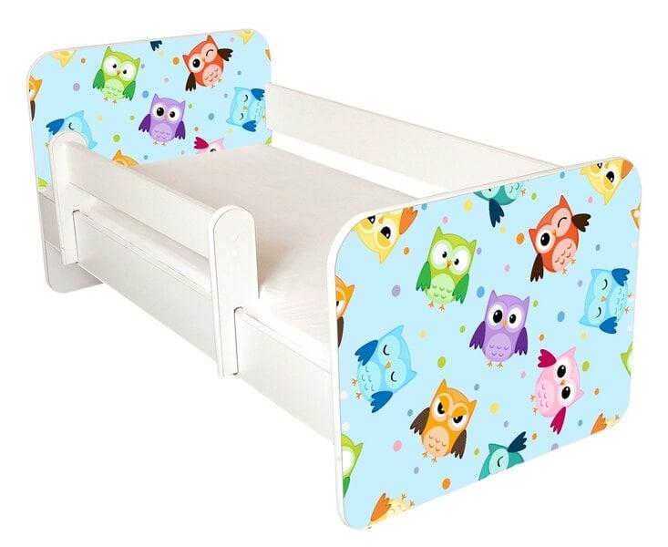 Lova su čiužiniu ir nuimama apsauga Ami 57, 140x70cm kaina ir informacija | Vaiko kambario baldai | pigu.lt