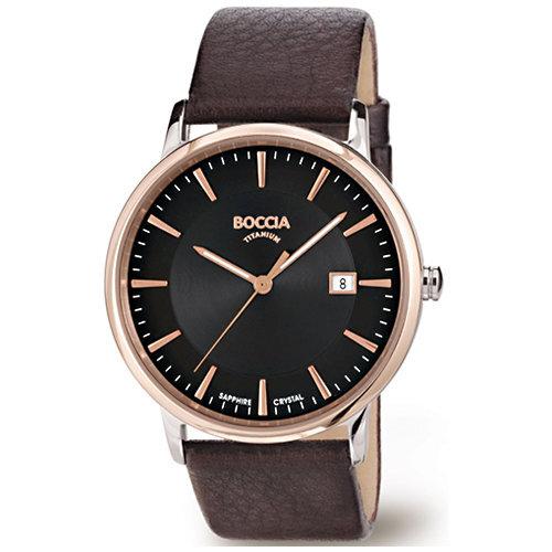 Vyriškas laikrodis Boccia Titanium 3557-05 kaina ir informacija | Vyriški laikrodžiai | pigu.lt