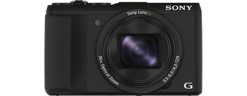 Sony DSC-HX60V, Juodas kaina ir informacija | Skaitmeniniai fotoaparatai | pigu.lt