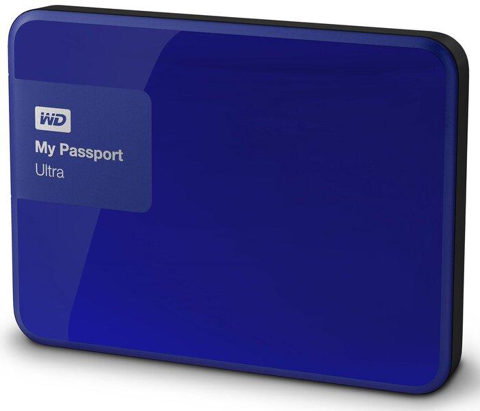 "WD My Passport Ultra 2.5"" 1 TB, USB 3.0, Mėlyna kaina ir informacija | Išoriniai kietieji diskai (HDD) | pigu.lt"