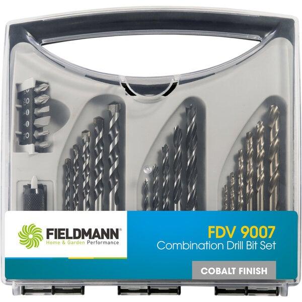 Grąžtų rinkinys Fieldmann FDV 9007, 23 vnt. kaina ir informacija | Mechaniniai įrankiai | pigu.lt