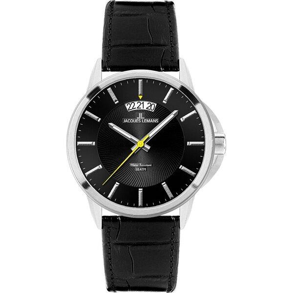 Vyriškas laikrodis Jacques Lemans 1-1540A kaina ir informacija | Vyriški laikrodžiai | pigu.lt