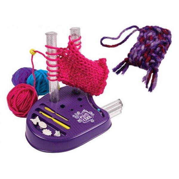 Mezgimo mašina KNITS COOL, 15800/6027457 kaina ir informacija | Žaislai mergaitėms | pigu.lt