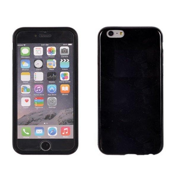 Apsauginis dėklas Telone Candy Ultra Slim 0.3mm skirtas Samsung Galaxy S3 Mini (i8190), Juodas kaina ir informacija | Telefono dėklai | pigu.lt
