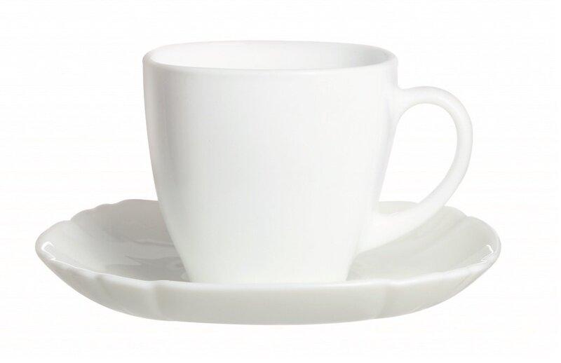 Luminarc kavos servizas Lotusia, 12 dalių kaina ir informacija | Taurės, puodeliai, ąsočiai | pigu.lt