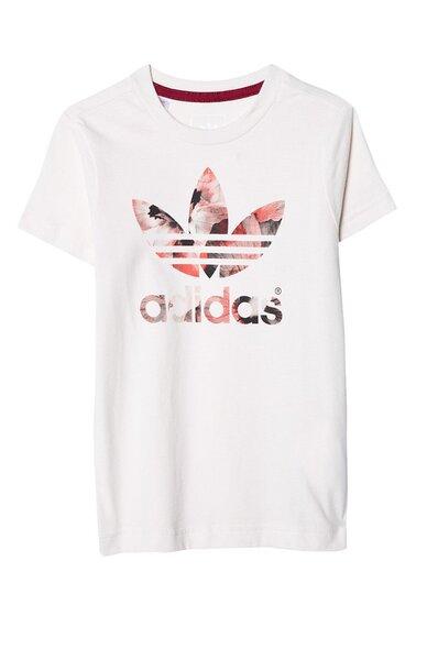 Marškinėliai mergaitėms Adidas Originals kaina ir informacija | Drabužiai mergaitėms | pigu.lt