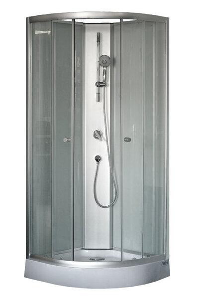 Dušo kabina Box Atlant 80x80 mat. kaina ir informacija | Paprastosios dušo kabinos | pigu.lt
