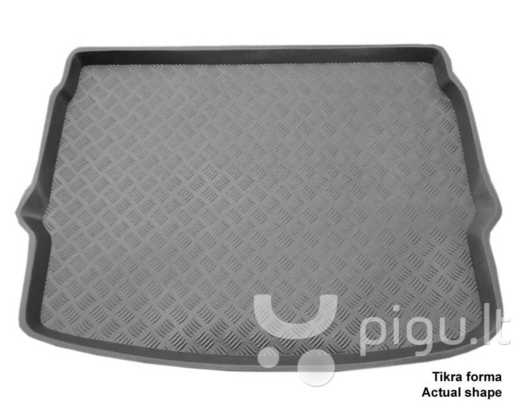 Bagažinės kilimėlis Nissan Qashqai 2014->(viršut. bagaž.) /35031 kaina ir informacija | Modeliniai bagažinių kilimėliai | pigu.lt
