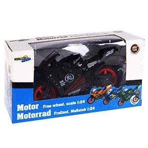 Vaikiškas motociklas 1:18 kaina ir informacija | Žaislai berniukams | pigu.lt