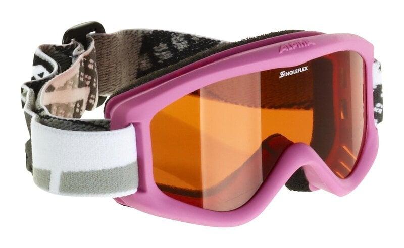 Slidinėjimo akiniai ALPINA CARVY 2.0 vaikiški Juodi kaina ir informacija | Slidinėjimo akiniai | pigu.lt