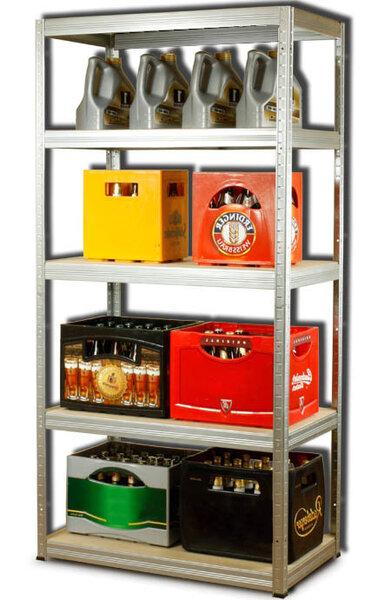 Sandėliavimo lentyna HZ 412 kaina ir informacija | Sandėliavimo lentynos | pigu.lt