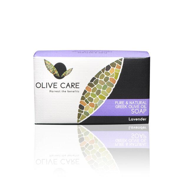 Muilas Olive Care Lavender 125 g kaina ir informacija | Dušo želė, muilas | pigu.lt
