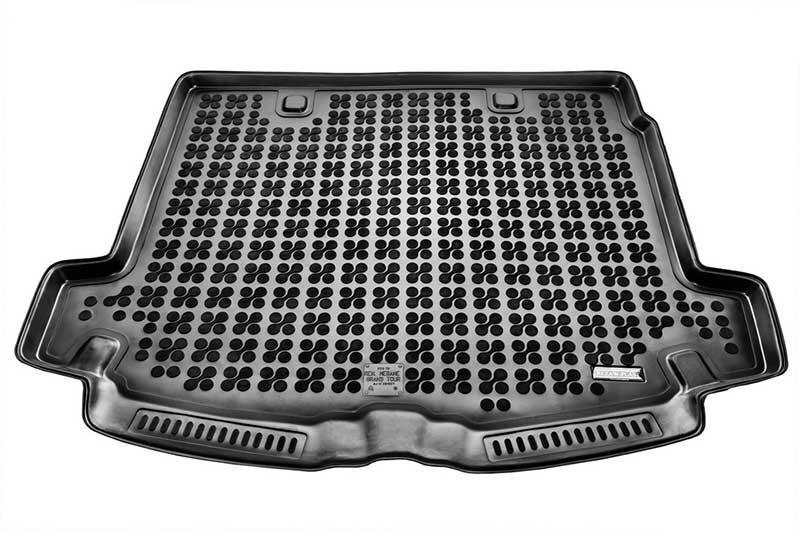 Guminis bagažinės kilimėlis Renault MEGANE Grandtour 2002-2009 /231327 kaina ir informacija | Modeliniai bagažinių kilimėliai | pigu.lt