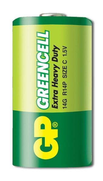 GP Greencell elementai R14 (C) kaina ir informacija | Elementai | pigu.lt
