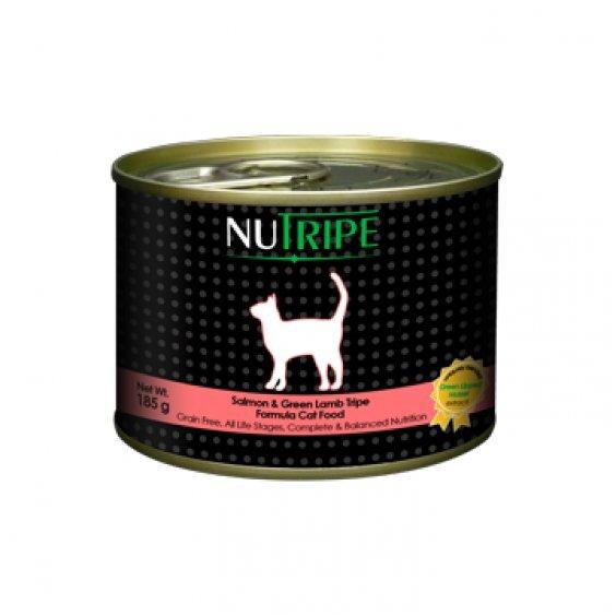 Nutripe Classic Salmon&Green Lamb Tripe 185 g kaina ir informacija   Konservai katėms   pigu.lt