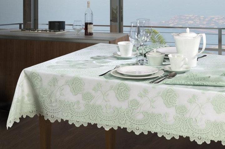 Staltiesė Pistacija, 120x160 cm kaina ir informacija | Staltiesės, virtuviniai rankšluosčiai | pigu.lt