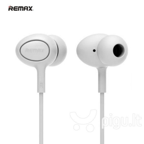 Remax RM-515 Super Comfort ausinės su mikrofonu, Baltos kaina ir informacija | Ausinės, mikrofonai | pigu.lt