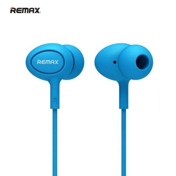 Remax RM-515 Super Comfort ausinės su mikrofonu, Mėlynos kaina ir informacija | Ausinės, mikrofonai | pigu.lt