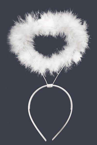 Balta aureolė kaina ir informacija | Karnavaliniai kostiumai | pigu.lt