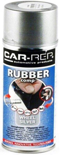 Car-rep CR199980 purškiama guma sidabrinė-labai blizgi kaina ir informacija | Automobilinė chemija | pigu.lt