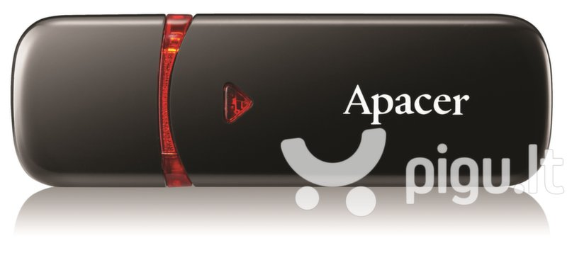 APACER USB2.0 Flash Drive AH333 16GB, Juoda kaina ir informacija | USB laikmenos | pigu.lt