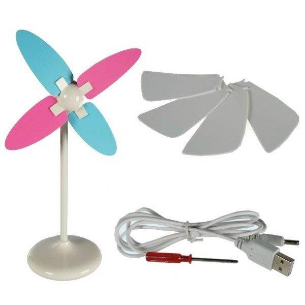USB ventiliatorius kaina ir informacija | Kitos originalios dovanos | pigu.lt