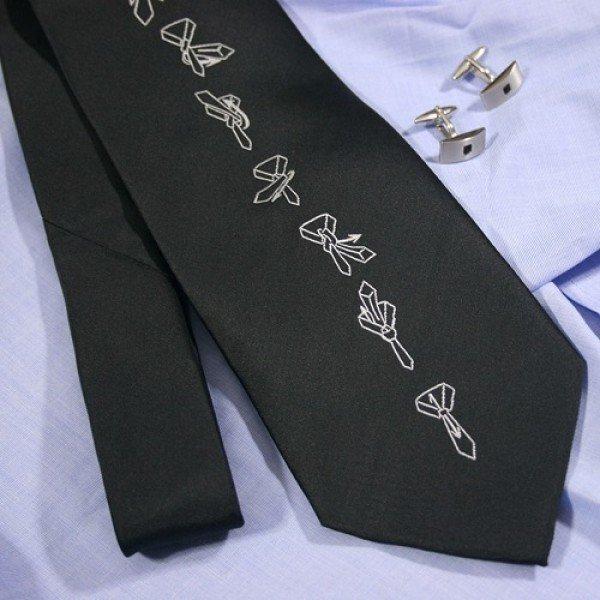 Kaklaraištis su rišimo instrukcija kaina ir informacija | Kitos originalios dovanos | pigu.lt