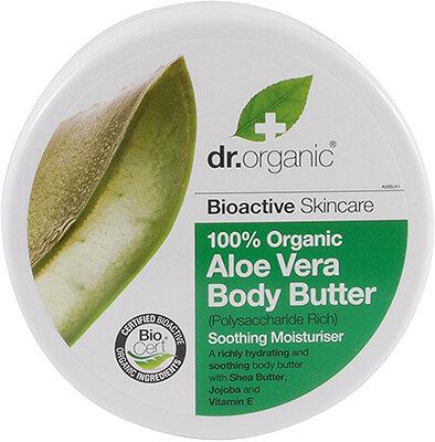 Natūralus kūno sviestas Dr. Organic Aloe Vera 200 ml kaina ir informacija | Kremai, losjonai kūnui | pigu.lt