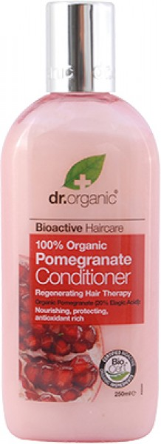 Natūralus kondicionierius Dr. Organic Pomegranate 250 ml kaina ir informacija   Balzamai, kondicionieriai   pigu.lt