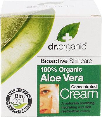 Natūralus kūno kremas Dr. Organic Aloe Vera 50 ml kaina ir informacija | Kremai, losjonai kūnui | pigu.lt