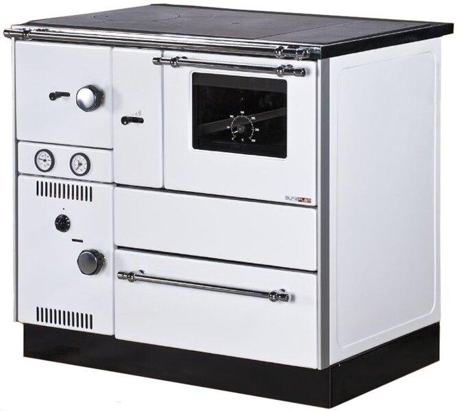 Alfa Plam centrinio šildymo katilas - viryklė Term 27 kaina ir informacija | Krosnelės | pigu.lt