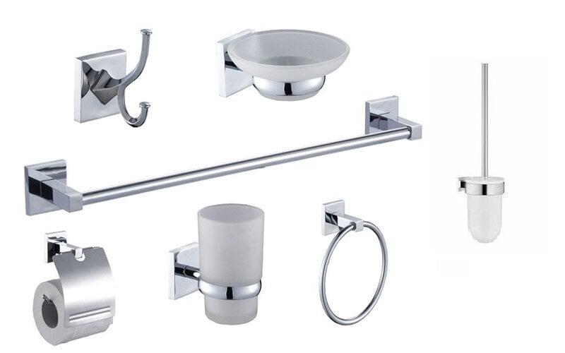 Vonios kambario aksesuarų komplektas OTTO WC kaina ir informacija | Vonios kambario aksesuarai | pigu.lt