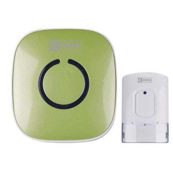 Bevielis durų skambutis EMOS P5718G kaina ir informacija | Durų skambučiai | pigu.lt