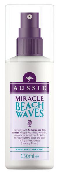 Purškiklis plaukams Aussie Beach Wave 150 ml kaina ir informacija | Plaukų formavimo priemonės | pigu.lt