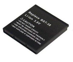 Baterija Erics. BST-38 (K850, T650, W580, W760, W980)