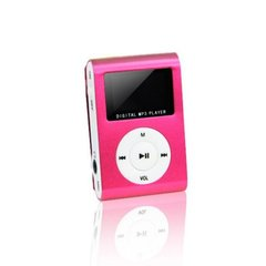 Setty Metal Clip MP3, Розовый