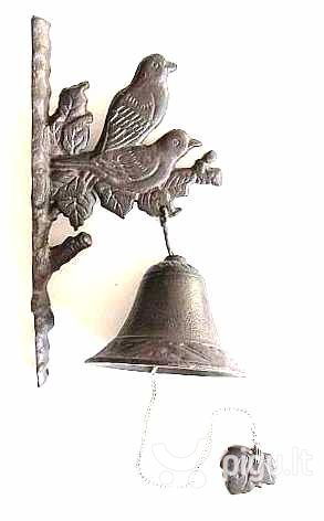 Suvenyras - varpelis kaina ir informacija | Sodo dekoracijos | pigu.lt