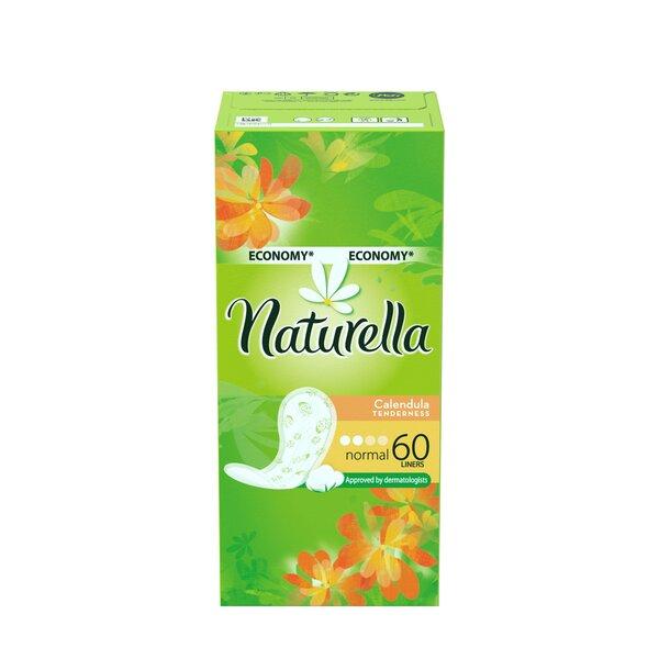 Higieniniai įklotai Naturella Calendula 60 vnt. kaina ir informacija | Įklotai, tamponai, prausikliai | pigu.lt