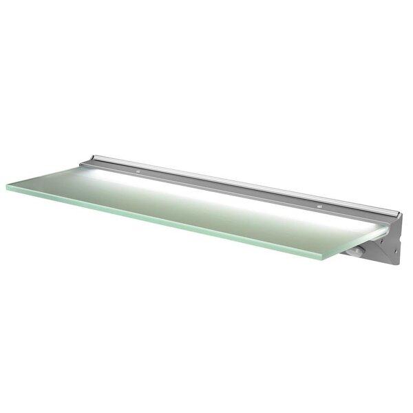 Florence IP44 LED stiklinė apšviečiama lentyna kaina ir informacija | Vonios baldai | pigu.lt