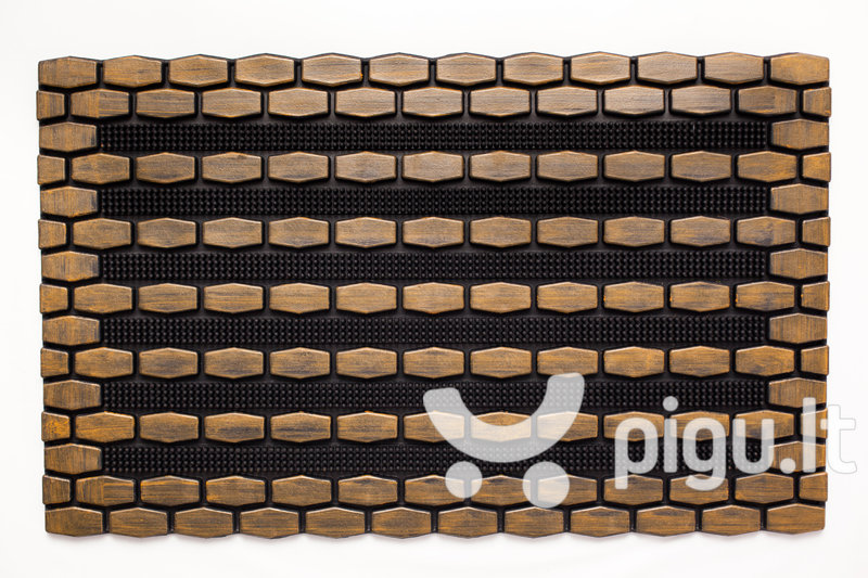 Durų kilimėlis Forest, 45x75 cm kaina ir informacija | Durų kilimėliai | pigu.lt