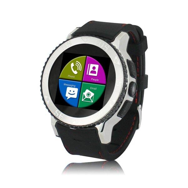 Telefonas Laikrodis ZGPAX S7, Juoda kaina ir informacija | Išmanieji laikrodžiai ir apyrankės (smartwatch, smartband) | pigu.lt