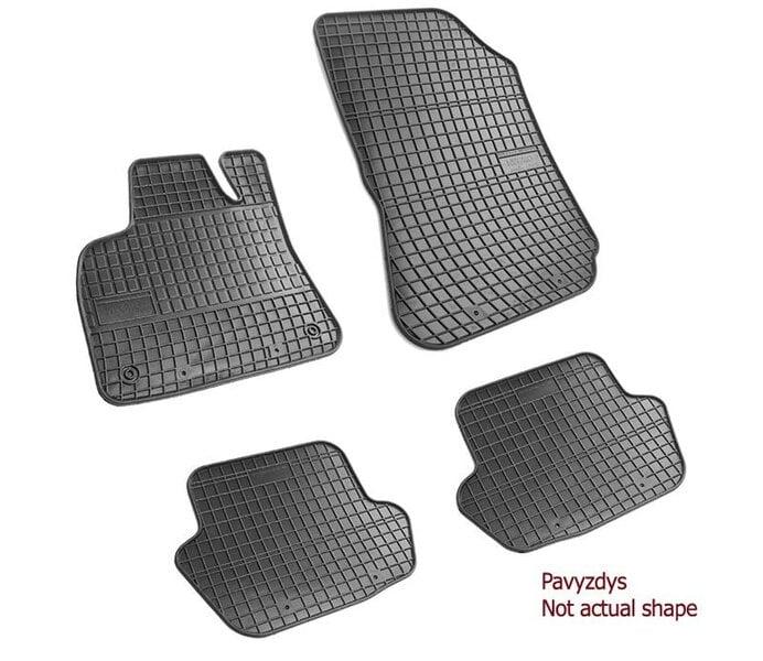 Guminiai kilimėliai Opel Zafira A 1999-2005 /4pc, 542759 kaina ir informacija | Modeliniai guminiai kilimėliai | pigu.lt