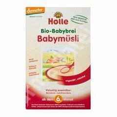 Ekologiška vaikiška dribsnių košė HOLLE, nuo 6 mėn., 250 gr