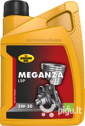 Alyva KROON-OIL Meganza LSP 5W-30, 1L kaina ir informacija | Variklinės alyvos | pigu.lt