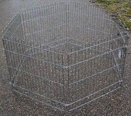 Вольер для собак Happy Pet, 63x63 см x 6 шт.
