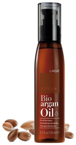 Argano aliejus plaukams Lakme 125 ml kaina ir informacija | Priemonės plaukų stiprinimui | pigu.lt