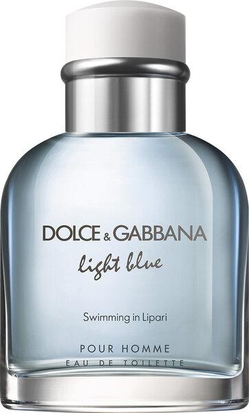 Tualetinis vanduo Dolce & Gabbana Light Blue Swimming in Lipari EDT vyrams 75 ml kaina ir informacija | Kvepalai vyrams | pigu.lt