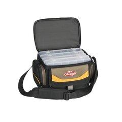 Berkley krepšys 28x19,5x18,5cm pilkas/geltonas/juodas su 4 dežutėmis